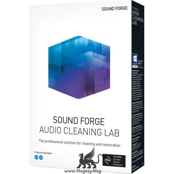 SOUND FORGE Audio Cleaning Lab v24.0.2.19 WiN