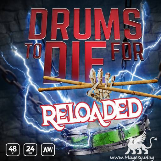Drums To Die For Reloaded Vol.1 WAV-FLARE